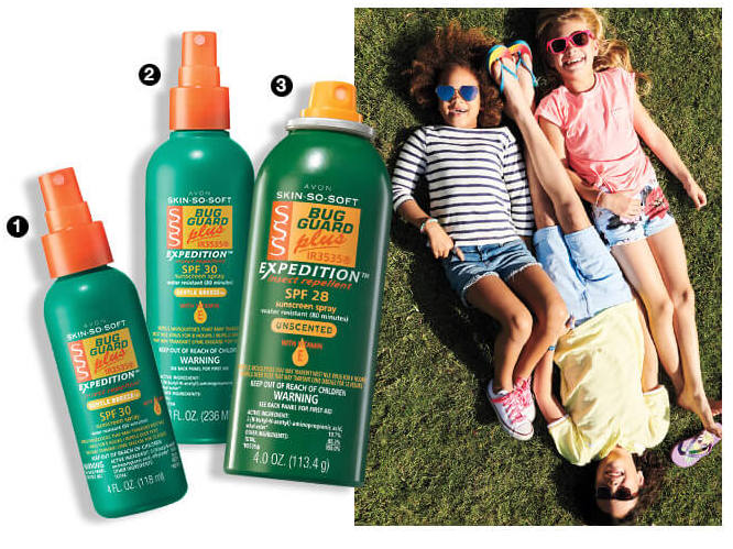 Avon So Soft Bug Repellent With Sunscreen Pump Spray SPF 30